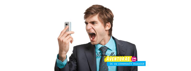 ¿Cómo lidiar con clientes enojados?